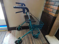 *WALKER**, Lge. Wheels, Brakes, Lge. Seat, Basket