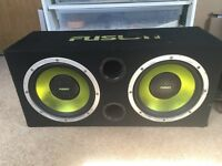 Dual fusion subwoofer