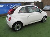 2015 Fiat 500C 1.2 Pop 2dr (start/stop)