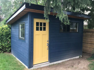 New Solid Wood Siding Maibec for Shed or Pool House