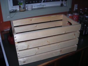 Yukon Made Storage Crates