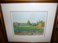 "M.J.K.D. ""Untitled"" Vintage Original Watercolor"