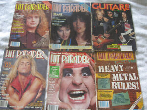 rock and roll vintage magazinne,revue