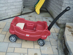 Brouette chariot little tike rouge