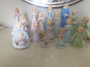 Hallmark Growing Up Birthday Dolls Collection (Blond) for sale.