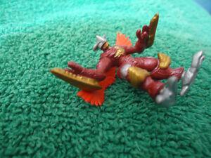 Digimon Burninggreymon official Bandai mini figure Kingston Kingston Area image 3