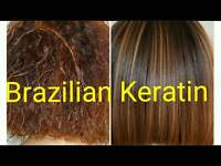 Brazilian Blowdry (keratin treatment)