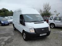 2013 FORD TRANSIT 2.2 TDCI T350 LWB HR 125 Van. Only 37,000 miles. 1 owner FSH