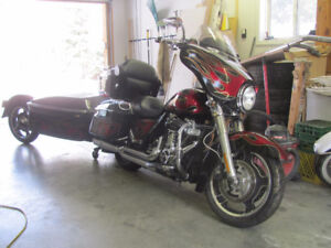 2013 FLHX Street Glide with 25ci trailer