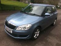 11 SKODA FABIA 1.2 TSI SE 85 BHP 1 PREVIOUS OWNER FULL HISTORY LOW 77K PX SWAPS