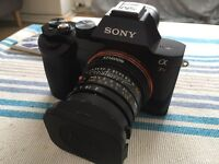 Sony A7 r with Sony E to Leica M adaptor