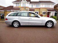 Mercedes e 220 estate 7 seater full mot ,very economical