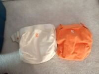 2 Large gdiapers for sale
