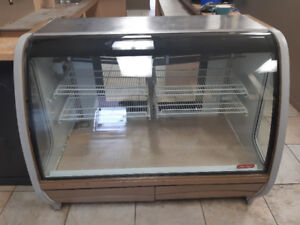 Restaurant Equipment - Electric Grill, Display Case, Tables/Chai