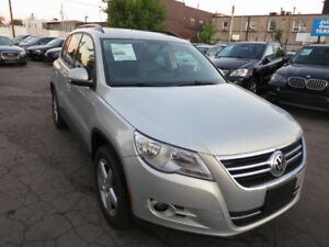 2011 VW Tiguan 4Motion Highline - Pano, B/tooth, Leather, A1