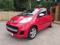2012 PEUGEOT 107 1.0 SPECIAL EDITION SPORTIUM IN RED
