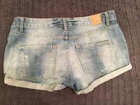 Women's size 12 denim shorts