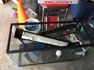 30 gallon fish tank with lots of extras