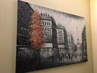 Oil Canvas Paris Painting