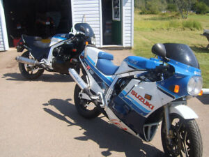 ANY BIKES OR PARTS FOR 1985 OR 1986 GSXR 750 OF 1100