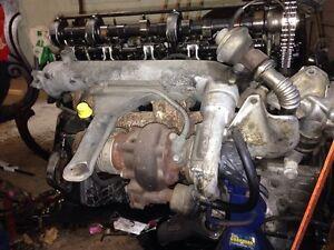 1983 Mercedes 300d engine om617