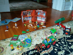 5 Assorted Farm Playmobil sets (new price) London Ontario image 1