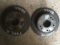 Honda Civic type R rear discs ep3 Used but fair condition hence price