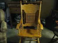 Beautiful Rocking Chair