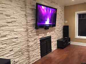 TV Installation Install Sound System Camera Internet and more... West Island Greater Montréal image 1