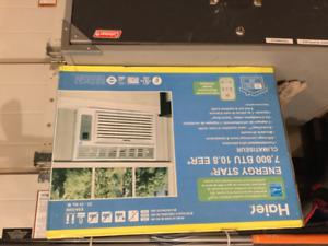 Window air conditioner-7,800 BTU new in the box
