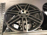 """Set of 4 22"""" alloy wheels alloys rims Audi Q7 Porsche Cayenne 5x130"""