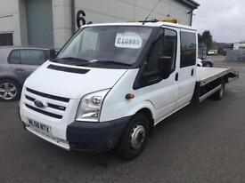 Ford Transit Recovey truck crew cab 2009 58 Reg