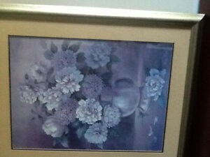 Stunning 30X24 inch floral picture
