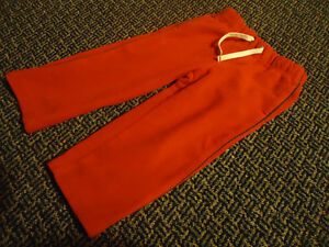Boys Size 2 Red Fleece Joggers by GAP