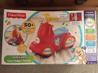 Fisher price learning scooter
