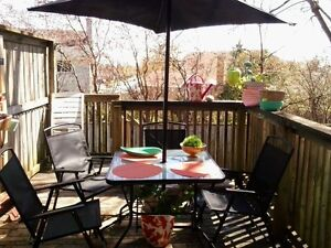 4 chair patio set with umbrella