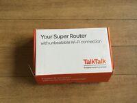 Talk talk super router HG635 fibre boxed