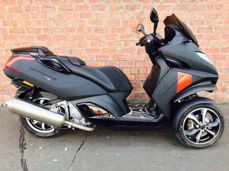 new 2017 peugeot metropolis 400 rxr abs tcs own this bike for only a week in southside. Black Bedroom Furniture Sets. Home Design Ideas