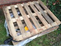 4 wooden pallets free to collect from Thorpe Astley braunstone Leicestershire