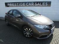 2014 Honda Civic 1.6 i-DTEC SE-T 5dr Diesel brown Manual