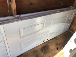 2 Exterior Steel Doors