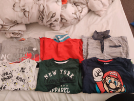 5-6 years boys clothes bundle