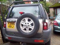 Land Rover FREELANDER Estate 1.8- nice estate -with NEW TEST £795 low mileage