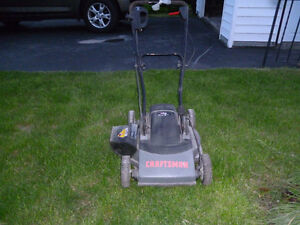 Craftsmen (Sears) 3 in 1 ELECTRIC mulching mower
