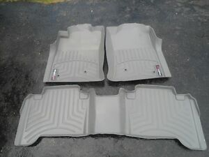 For sale - Set of Weather Tech Floor mats ( Toyota  Tacoma)