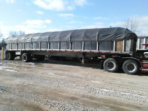 2006 Benson flatbed trailer for sale.