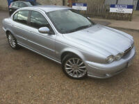 2006 '06' Jaguar X-Type 2.2 D. Diesel. Manual. Bargain Luxury Saloon. Px Swap
