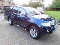 2010 10 Reg Mitsubishi L200 2.5DI-D CR 4WD ( lth ) LB Double Cab Pickup Warrior