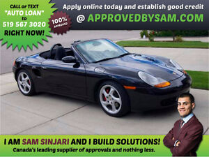 PORSCHE BOXTER CONVERTIBLE - Bad Credit? GUARANTEED APPROVALS.