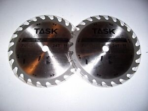 TWO NEW 7 1/4 SAW BLADES